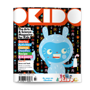 OKIDO Magazine Issue 77 Cover