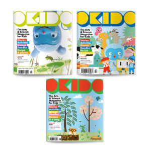OKIDO Magazine Nature Bundle