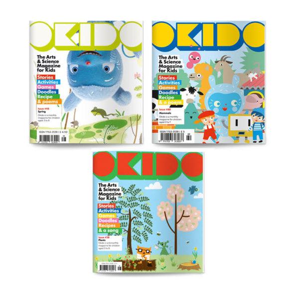 OKIDO Magazine Nature Bundle