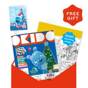 OKIDO Magazine Christmas Subscription 2020