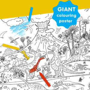 OKIDO Giant Colouring Posters